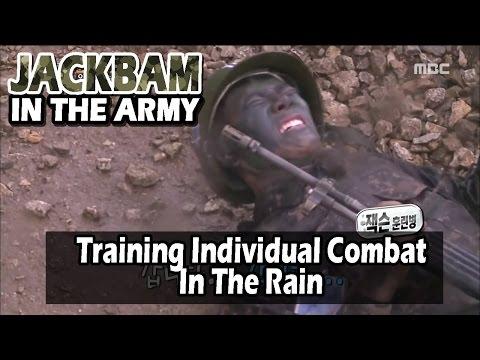 [Real men] 진짜 사나이 - Training Individual Combat In The Rain 20160612