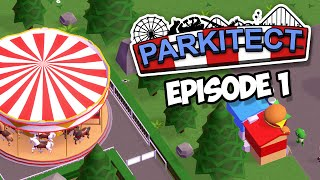 Parkitect #1 - NEW THEME PARK W/Seniac