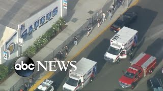 Al menos 2 muertos deja un tiroteo en una escuela de California