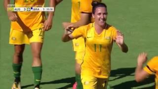 Australia vs. Brazil: Highlights - Aug. 3, 2017