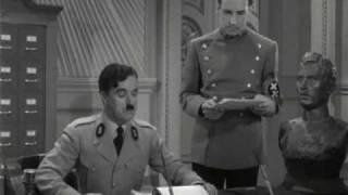 Charlie Chaplin - Hitler