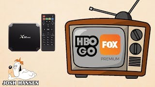 HBO GO Y FOX en la TV BOX