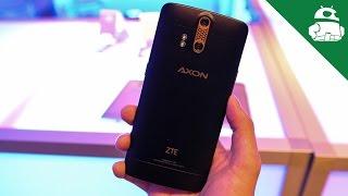 ZTE   AXON Phone Hands On