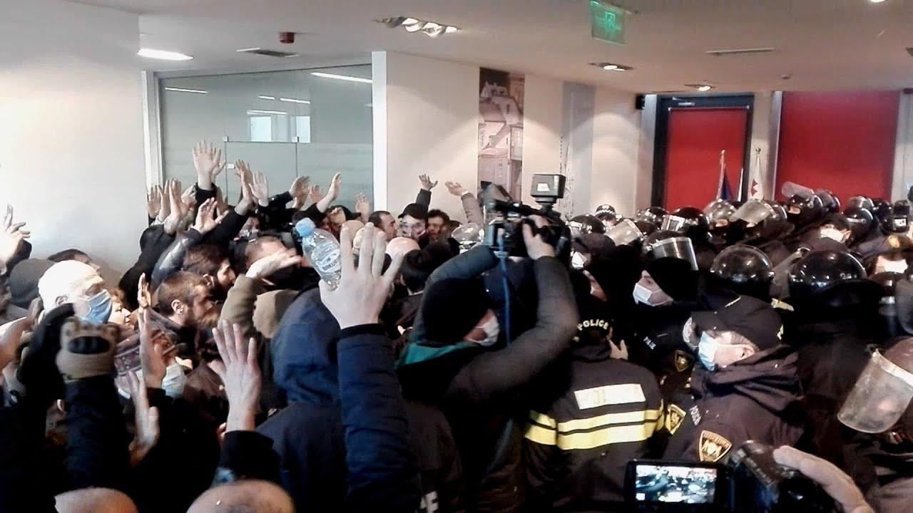 Тбилиси: силовики провели спецоперацию по задержанию Мелии