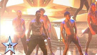 Things HOT UP with Channing Tatum and the SIZZLING stars of Magic Mike!   The Final   BGT 2018