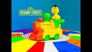 Rare MUSICAL RAINBOW Big Bird's Melody TRAIN Sesame Street Unboxing Opening!!