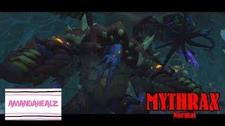 WoW BfA - Uldir Raid Guide - Mythrax (Normal) - Resto Druid POV with COMMENTARY