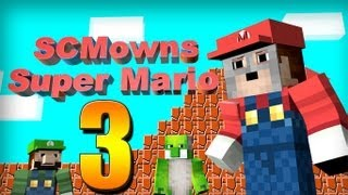 Minecraft - Super Mario Bros Mini-game Part 3! - DONKEY KONG!?