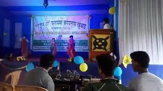 Beautiful dance Fresher's Pathsala Bodo Students Union on 16sep.2018