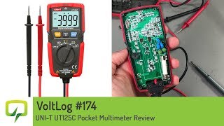Voltlog #160 - Brymen BM22s and BM27s Pocket Multimeter Review - VoltLog