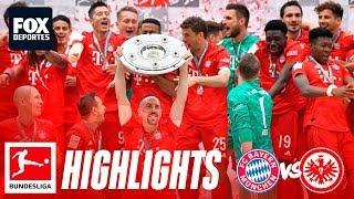Bayern Munich 5-1 Eintracht Frankfurt | HIGHLIGHTS | Jornada 34 | Bundesliga