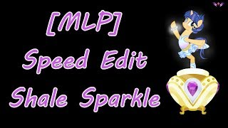 [MLP] Next Gen- Ballerina Shale Sparkle (SPEED EDIT)