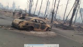 Analysing Santa Rosa fires. Directed energy? DEW