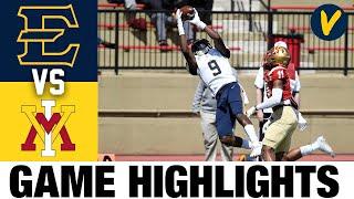 ETSU vs #10 VMI Highlights Highlights | FCS 2021 Spring College Football Highlights