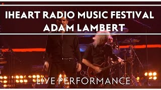 Queen + Adam Lambert at iHeartRadio Music Festival, Las Vegas, NV September 20, 2013