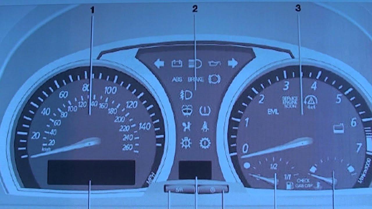 2007 Bmw X3 Dashboard Warning Lights