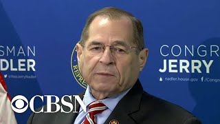 "House Judiciary Chair Jerry Nadler reacts to Mueller statement, says ""President Trump is lying"""