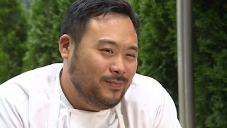 David Chang talks about fame, food and his famous temper