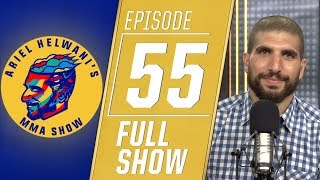 Leon Edwards, Michael Bisping, Felicia Spencer | Ariel Helwani's MMA Show [Episode 55 – 7/22/2019]