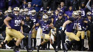 Football: Washington runs wild over Washington State in 110th Apple Cup