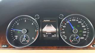 Passat B7 3AA Instrument cluster 3D with all Assist or Blue needles