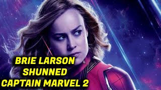 Brie Larson Captain Marvel 2 In Trouble