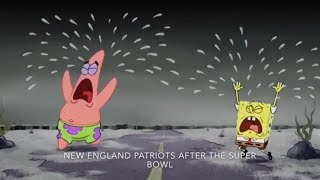All 32 NFL Teams Portrayed By Spongebob