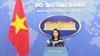 Họp báo thường kỳ Bộ Ngoại giao (17-10-2019)