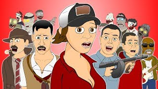 ♪ CALL OF DUTY ZOMBIES MUSICALS - Animated Song Compilation