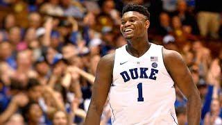 Duke PF Zion Williamson || 2018-19 Season Highlights