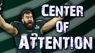 The Eagles offense would collapse without Jason Kelce