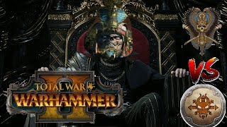 Tomb Kings vs Norsca | LIVE SETTRA, CHARIOT GOD  - Total War Warhammer 2