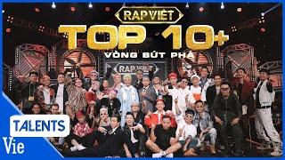 TOP 10+ tiết mục bùng nổ gây tiếng vang tại VÒNG BỨT PHÁ RAP VIỆT | Rap Việt Best Collection