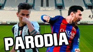 Canción Juventus - Barcelona 3-0 (Parodia Nicky Jam - El Amante) RESUBIDO