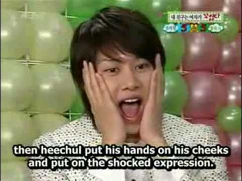 [Eng Sub] Happy Together Friend -- Super Junior Kim Heechul Cut Part 1
