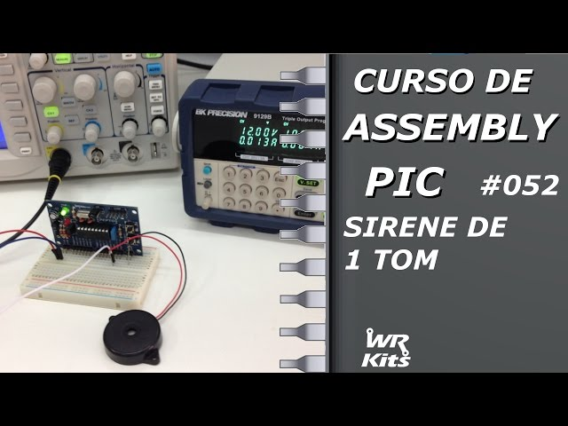 SIRENE DE 1 TOM | Assembly para PIC #052