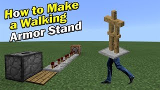 how to build armor stands in minevraft