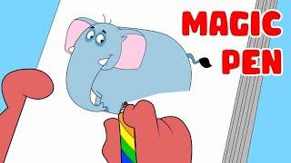 Rat-A-Tat | Chotoonz Kids Funny Cartoon Videos | 'Don Magic Pen'