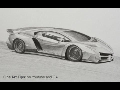 How to draw a bugatti with colors how to draw a super car musica
