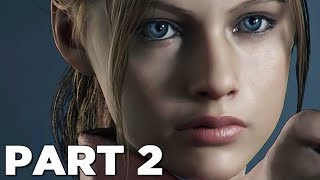 RESIDENT EVIL 2 REMAKE Walkthrough Gameplay Part 2 - CLAIRE (RE2 LEON)