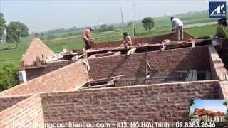 Xây Nhà Cấp 4 Tường Gạch | Thi Công Nhà Cấp 4 Tường Gạch - Kiến Trúc VietAS