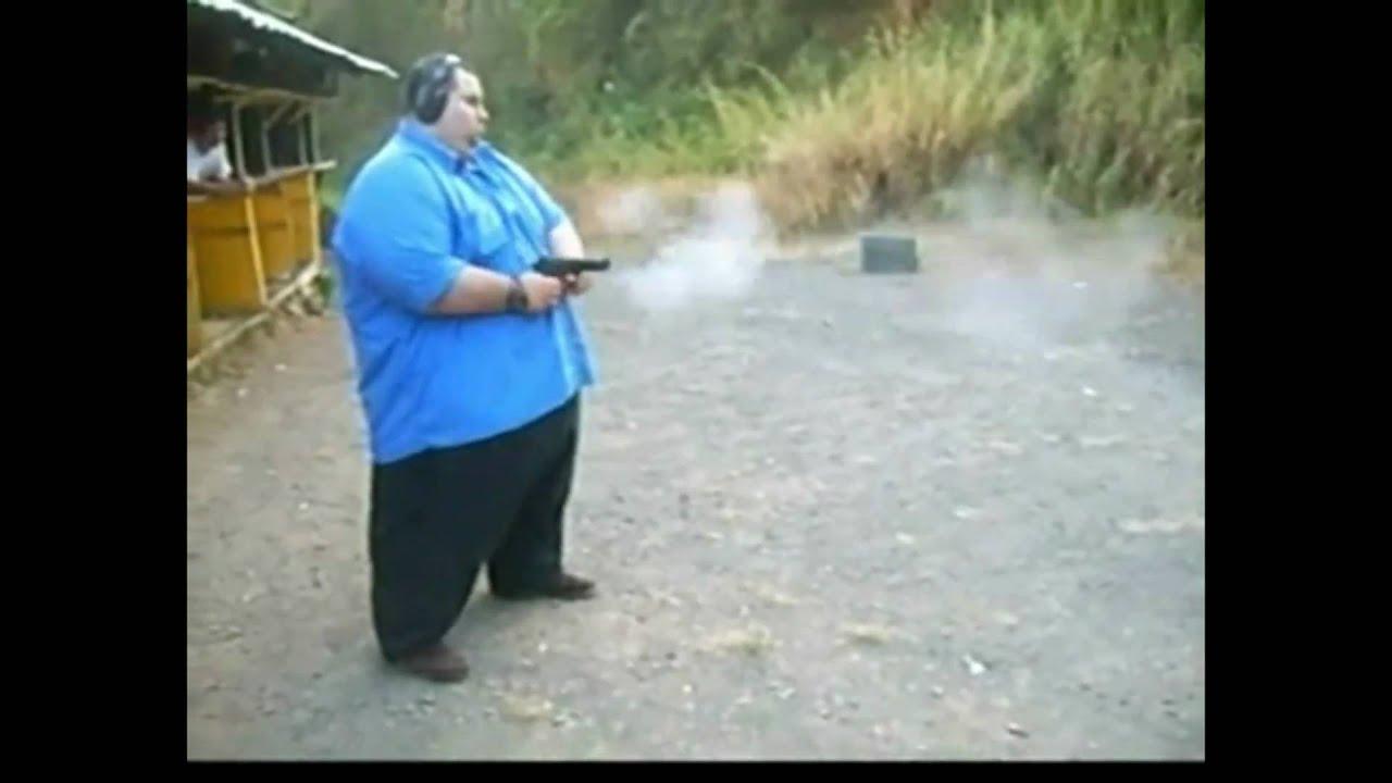 Big black cannon shoots huge load - 2 8