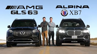 2021 Mercedes-AMG GLS 63 vs BMW Alpina XB7 // $175K Performance Monsters Face Off