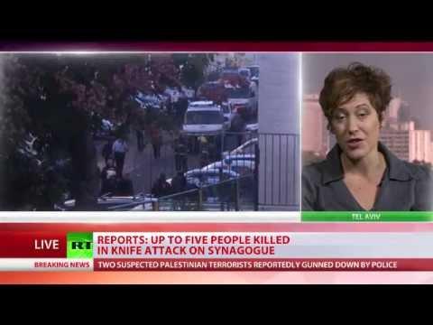 Baixar Jerusalem synagogue attack: 2 Palestinians with axes, knives kill 4 worshipers