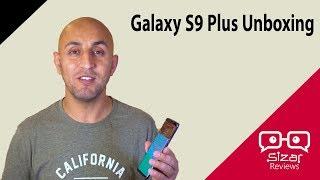 فتح صندوق أقوى جهاز من سامسونج Galaxy S9 Plus     -