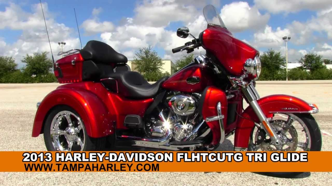 Motorcycle Cruise Control >> New 2013 Harley Davidson Tri Glide Trike 3 wheeled Motorcycle for sale - YouTube