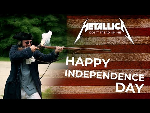 HAPPY INDEPENDENCE DAY! - Metallica, Don't Tread on Me, Gun Cover! #metallica #gundrummer