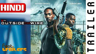 Outside the Wire (2021) Netflix Official Hindi Trailer #1 | FeatTrailers