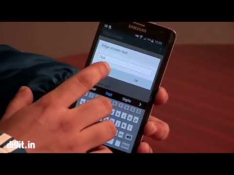 Samsung Galaxy Note Edge Features HINDI  Review