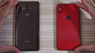 Huawei Mate 10 Pro vs iPhone X - Speed Test!